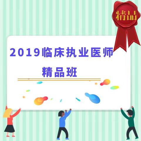 2019临床执业医师精品班