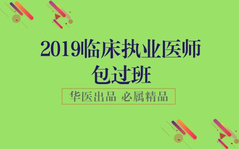 2019临床执业医师包过班