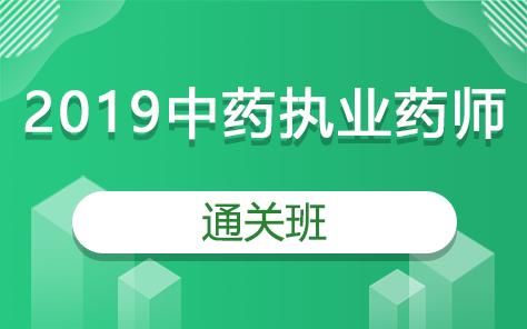 2019中药执业药师通关班