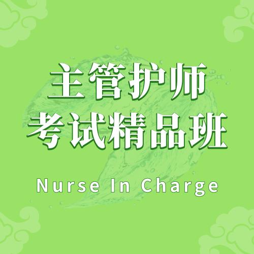 主管护师考试精品班